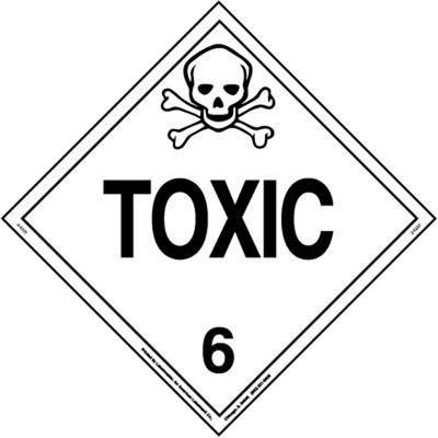 Toxic Placard