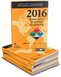 2016 Emergency Response Guidebook (ERG Books)
