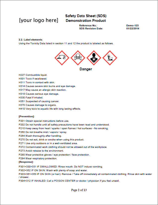 msds to sds conversion simplified from labelmaster
