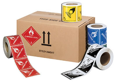 Hazmat Labels and UN Packaging