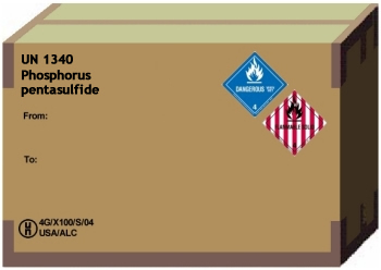 dangerous goods shipping document example