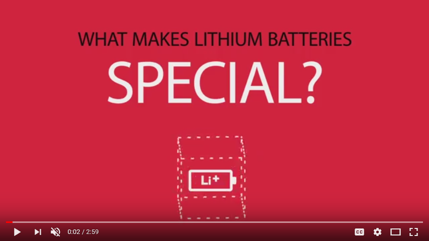 What Makes Lithium Batteries Special