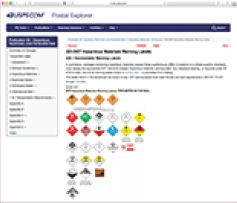 USPS Publication 52 - Updates to USPS Pub 52 Dangerous Goods