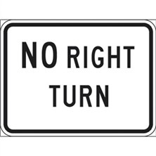 No Right Turn