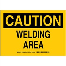 Caution - Welding Area Signs