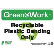 Recyclable Plastic Banding Only