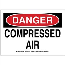 Danger - Compressed Air Signs