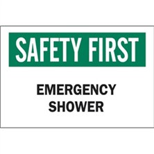 Safety First, Emergency Shower