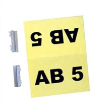 Aisle ID Label Holders