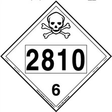 Poison 4 Digit Placards