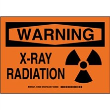 Warning - X-Ray Radiation Signs