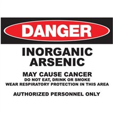 Danger Inorganic Arsenic May Cause Cancer Signs