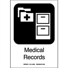Medical Records Signs
