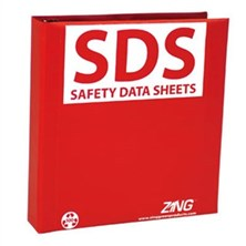 GHS SDS Binders and Accessories