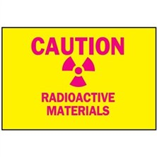 Radiation And Laser Signs