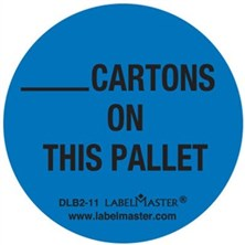___Cartons On This Pallet Circle Labels