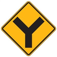 Warning Intersection Signs