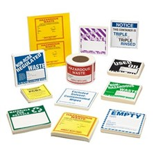 photo relating to Free Printable Hazardous Waste Labels titled Harmful Squander Labels, Non-RCRA Controlled Squander Labels, Non