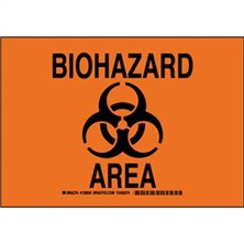 Biohazard Area Signs