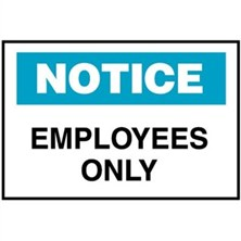 Notice, Employees Only