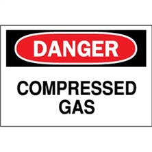 Danger, Compressed Gas