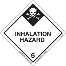 Worded Inhalation Hazard Labels