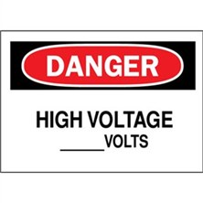 Danger, High Voltage Volts