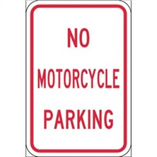 No Motorcycle Parking