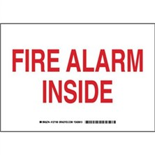Fire Alarm Inside Signs