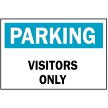 Parking Visitors Only