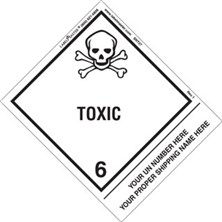 Personalized Shipping Name Toxic Labels