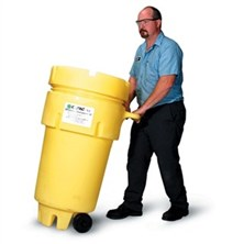 50-Gallon Wheeled Salvage Drum Spill Kits