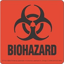 Biohazard Labels