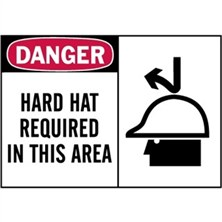 Danger, Hard Hat Required In This Area