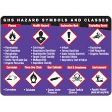 GHS And SDS Training Cards And Posters