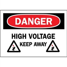 Danger, High Voltage Keep Away