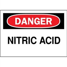Danger, Nitric Acid
