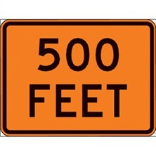 500 Feet (Orange, Large)