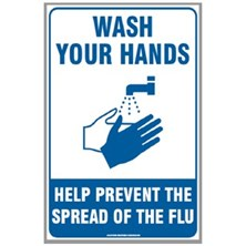 Hand Sanitizing and Hand Washing Signs