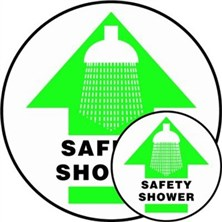 Safety Shower Signs
