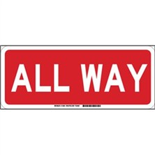 All Way Signs