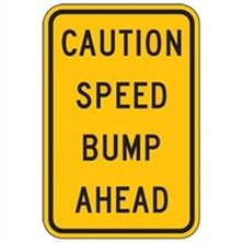 Caution Speed Bump Ahead