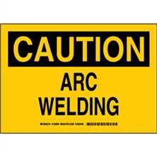 Caution - Arc Welding Signs