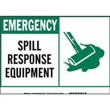 Emergency, Spill Response Equipment
