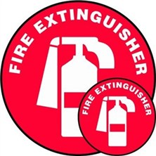 Fire Extinguisher (No Arrow) Signs