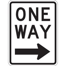 One Way With Right Arrow