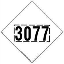 UN3077, Square-On-Point Markings