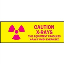 Caution X-rays This Equipment Produces X-rays When Energized
