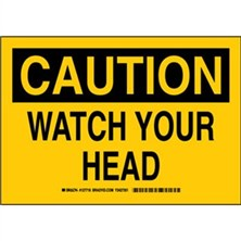 Caution - Watch Your Head Signs