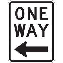 One Way With Left Arrow